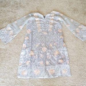Dresses & Skirts - Grey shilwar kameez